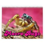 Macro-Bugs Wall Calendar