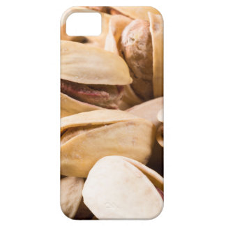 Macro close-up view of a group of salted pistachio iPhone SE/5/5s case