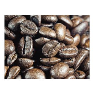 Macro coffee photo art