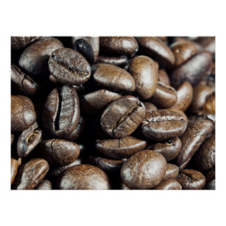 Macro coffee print