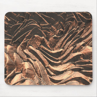 Macro Copper Abstract Mousepads
