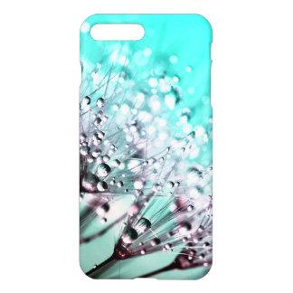 Macro Dandelion Seeds Water Drops Photo iPhone 7 Plus Case