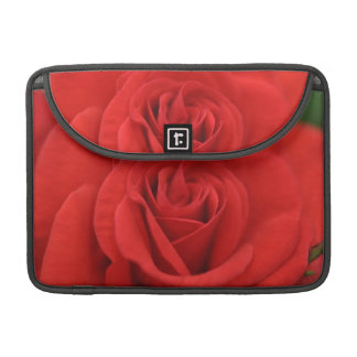Macro del rosa rojo fundas para macbook pro