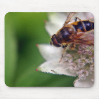Macro Drone Flower - version 2 Mouse Pad