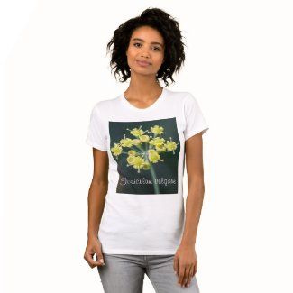 Macro Fennel Flowers T-shirt
