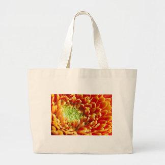 Macro Flower Petals Large Tote Bag