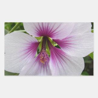 Macro Flower Rectangular Stickers