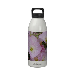 Macro Flower Reusable Water Bottle