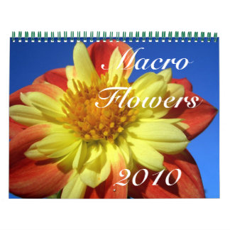 Macro Flowers 2010 Calendar