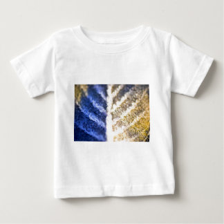 Macro Frosted Leaf Baby T-Shirt