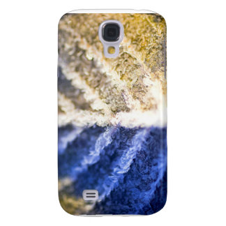Macro Frosted Leaf Samsung Galaxy S4 Case