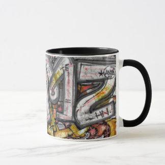 Macro graffiti mug