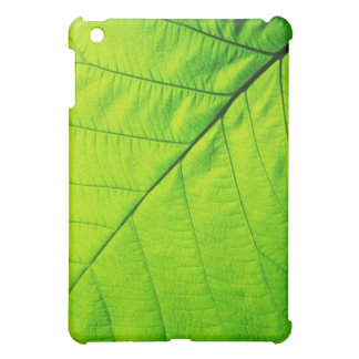 Macro Green Leaf iPad Case