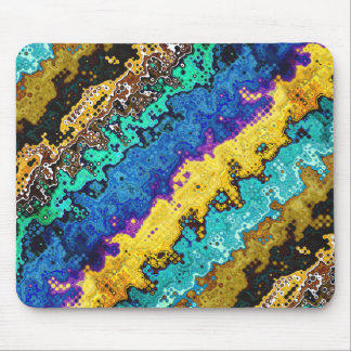 Macro Molecules of Color Mouse Pad