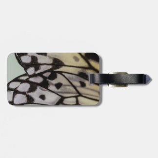 Macro Nymph Butterfly Wing Luggage Tag