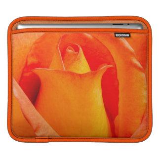 Macro Orange and Yellow Rose Sleeve For iPads