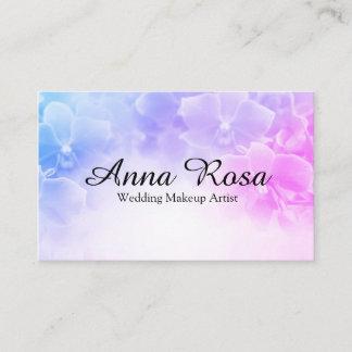 *~* Macro Photo Elegant Pink Lavender Flower Business Card