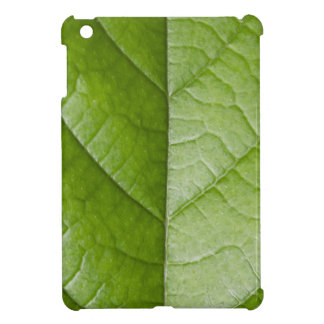 Macro Photo Green Leaf iPad Mini Cover