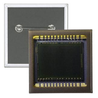 Macro Photo of a Camera Sensor Button