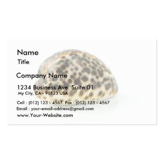Macro Photo Of A Seashell 4 Business Card Templates