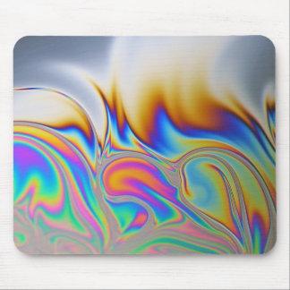 Macro photo of a soap bubble mouse pad