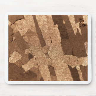 Macro photo of an iron meteorite mouse pad