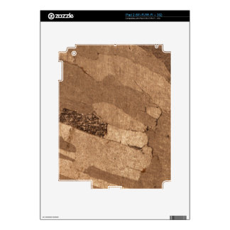Macro photo of an iron meteorite skins for the iPad 2
