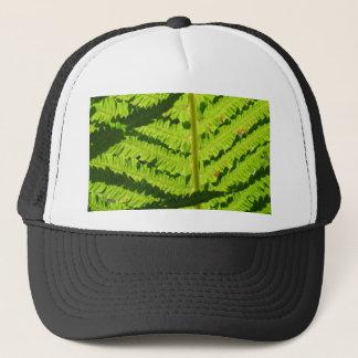 Macro Photo Of Fern 3 Trucker Hat