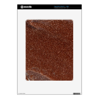Macro photo of Goldstone glass Skin For iPad