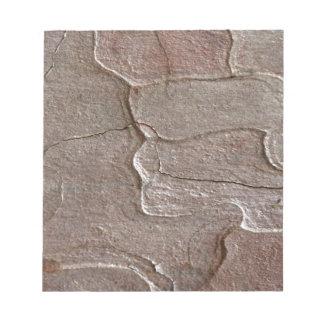 Macro photo of pine bark notepad