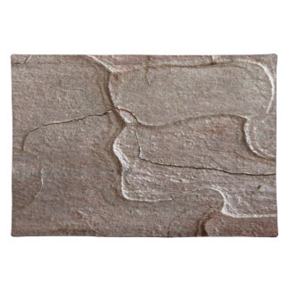 Macro photo of pine bark placemat