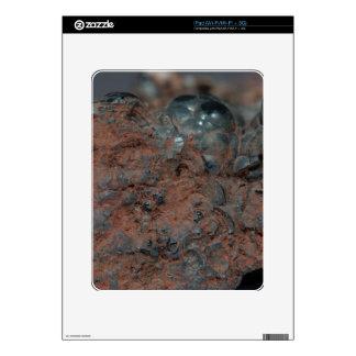 Macro photo of the iron ore Hematite. iPad Skin