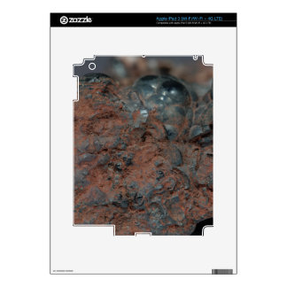 Macro photo of the iron ore Hematite. Skins For iPad 3