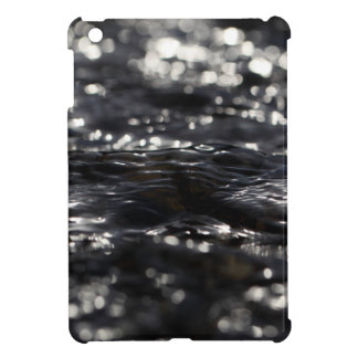 Macro photo of the surface of water in a creek iPad mini cases