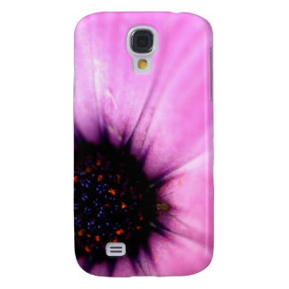 Macro Photo Pink Flower With Bug iPhone 3G Case Samsung Galaxy S4 Cover