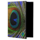 Macro Photo Real Peacock Feather On iPad Air Case For iPad Air