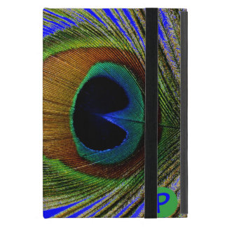 Macro Photo Real Peacock Feather On Mini iPad iPad Mini Cover