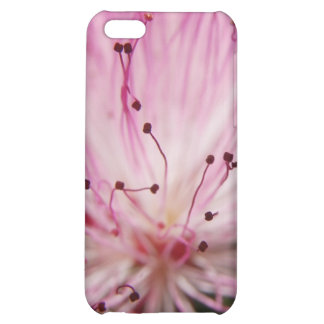 Macro Pink Bottlebrush iPhone 5C Covers