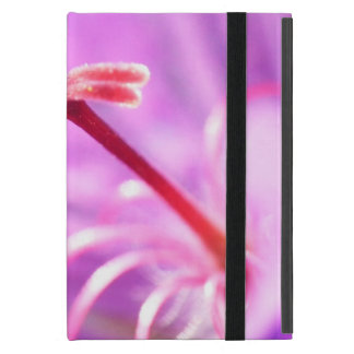 Macro Pink & Purple Stamen Flower Photo Case For iPad Mini