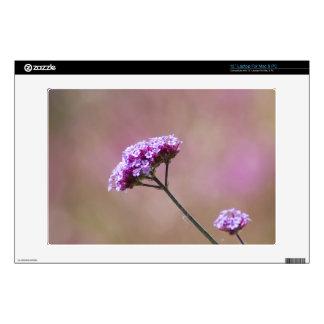 """Macro Purple and Pink Flowers 13"""" Laptop Skin"""