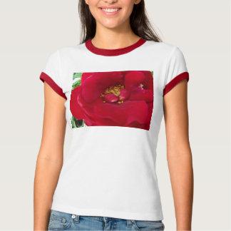 Macro Red Rose T-Shirt