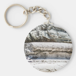 Macro Rock Keychain