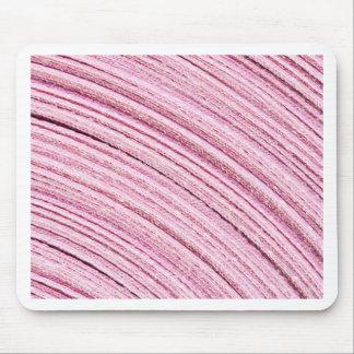 Macro rosada de la cinta alfombrilla de ratón