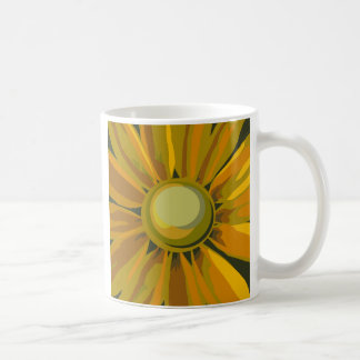 Macro Sunflower Coffee Mug
