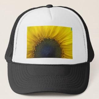 Macro Sunflower Trucker Hat