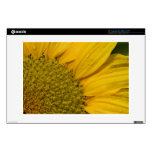 """Macro Sunflower With Raindrops Decals For 13"""" Laptops"""