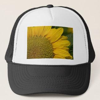 Macro Sunflower With Raindrops Trucker Hat
