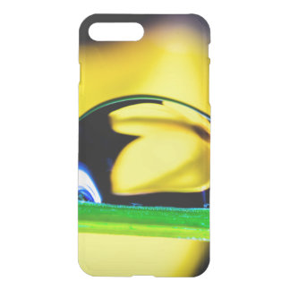Macro Water Drop Yellow Flower Photo iPhone 8 Plus/7 Plus Case