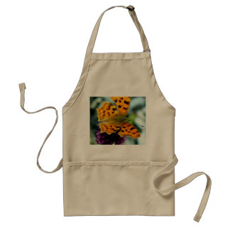 Macro Yellow Butterfly Adult Apron