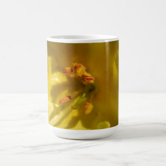 Macro Yellow Mullein Flower Coffee Mug